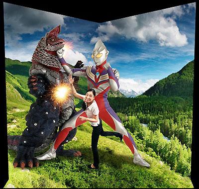 日本初のウルトラマン3Dミュージアム開催
